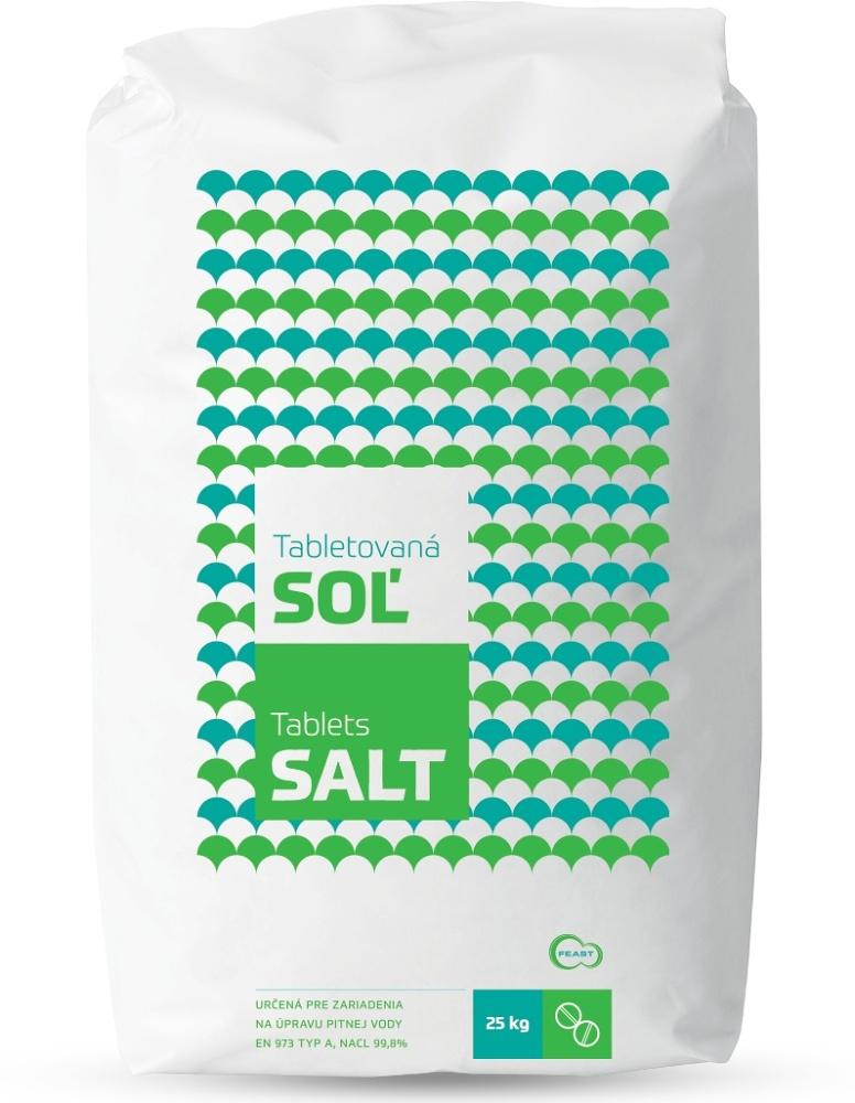 Tabletovaná soľ FEAST 25 kg
